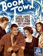 Boom Town - 11 x 17 Movie Poster - French Style A