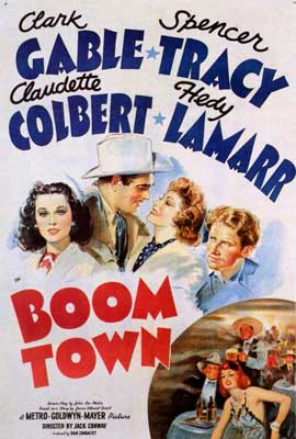 Boom Town - 27 x 40 Movie Poster - Style A