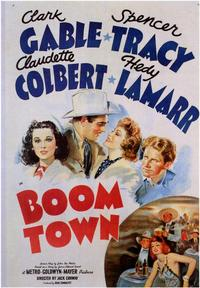 Boom Town - 43 x 62 Movie Poster - Bus Shelter Style A