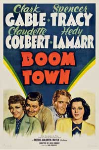 Boom Town - 11 x 17 Movie Poster - Style B