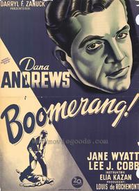 Boomerang - 11 x 17 Poster - Foreign - Style A
