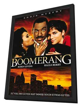 Boomerang - 11 x 17 Movie Poster - Style C - in Deluxe Wood Frame
