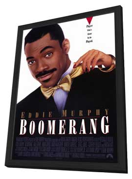Boomerang - 27 x 40 Movie Poster - Style A - in Deluxe Wood Frame