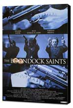 Boondock Saints - 11 x 17 Movie Poster - Style A - Museum Wrapped Canvas