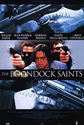Boondock Saints - 27 x 40 Movie Poster - Italian Style A