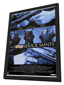 Boondock Saints - 27 x 40 Movie Poster - Style A - in Deluxe Wood Frame