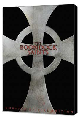 Boondock Saints - 11 x 17 Movie Poster - Style C - Museum Wrapped Canvas