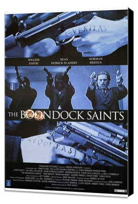 Boondock Saints - 27 x 40 Movie Poster - Style A - Museum Wrapped Canvas