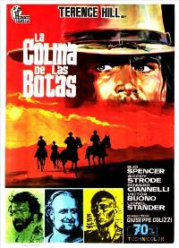 Boot Hill - 11 x 17 Movie Poster - Spanish Style A