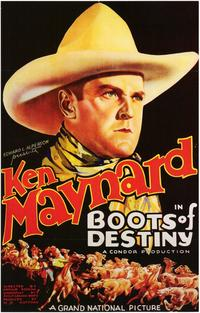 Boots of Destiny - 11 x 17 Movie Poster - Style B