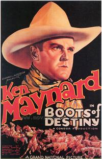 Boots of Destiny - 43 x 62 Movie Poster - Bus Shelter Style A