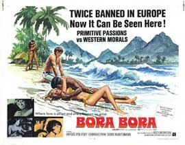 Bora Bora - 11 x 14 Movie Poster - Style A