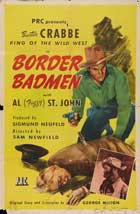 Border Badmen - 11 x 17 Movie Poster - Style A