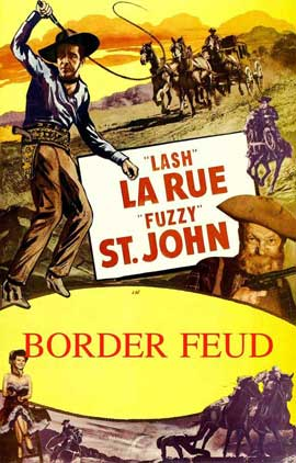 Border Feud - 11 x 17 Movie Poster - Style A