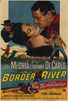 Border River - 27 x 40 Movie Poster - Style A