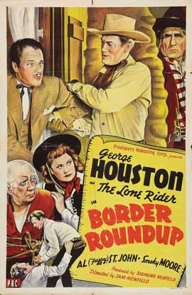 Border Roundup - 27 x 40 Movie Poster - Style A