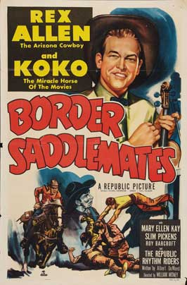 Border Saddlemates - 11 x 17 Movie Poster - Style A