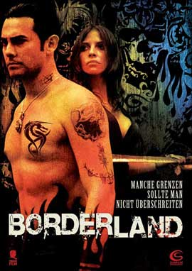 Borderland - 11 x 17 Movie Poster - German Style A