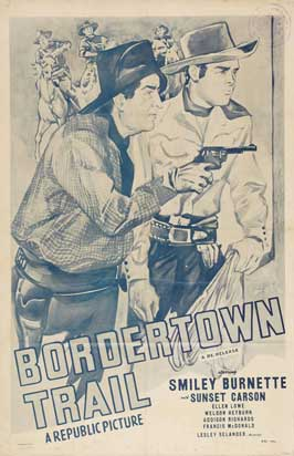 Bordertown Trail - 11 x 17 Movie Poster - Style A
