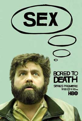 Bored to Death - 11 x 17 TV Poster - Style D