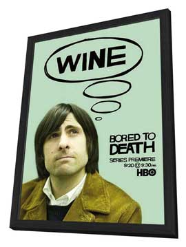 Bored to Death - 11 x 17 TV Poster - Style B - in Deluxe Wood Frame