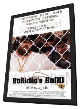 Boricuas Bond - 11 x 17 Movie Poster - Style A - in Deluxe Wood Frame