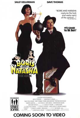 Boris and Natasha - 27 x 40 Movie Poster - Style A