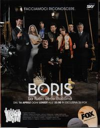 Boris (TV) - 11 x 17 TV Poster - Style A