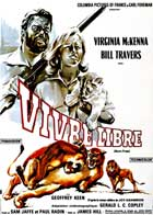 Born Free - 11 x 17 Movie Poster - French Style A