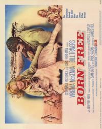 Born Free - 22 x 28 Movie Poster - Half Sheet Style A