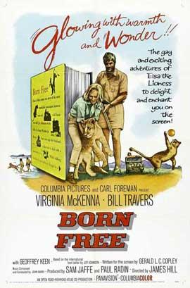 Born Free - 11 x 17 Movie Poster - Style B