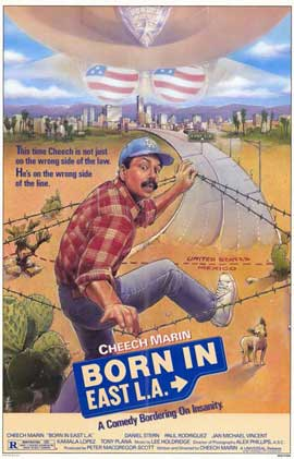 Born in East L.A. - 11 x 17 Movie Poster - Style A