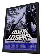 Born Losers - 27 x 40 Movie Poster - Style A - in Deluxe Wood Frame