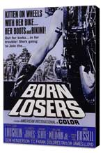 Born Losers - 27 x 40 Movie Poster - Style A - Museum Wrapped Canvas