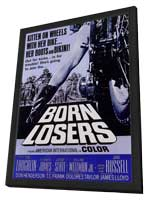 Born Losers - 11 x 17 Movie Poster - Style A - in Deluxe Wood Frame