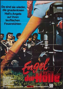 Born Losers - 11 x 17 Movie Poster - German Style A
