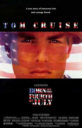 Born on the Fourth of July - 11 x 17 Movie Poster - Style A