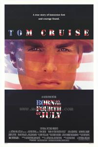 Born on the Fourth of July - 43 x 62 Movie Poster - Bus Shelter Style A