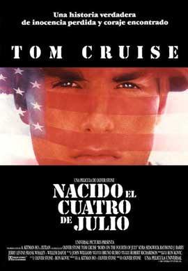 Born on the Fourth of July - 11 x 17 Movie Poster - Spanish Style A