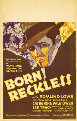 Born Reckless - 27 x 40 Movie Poster - Style A