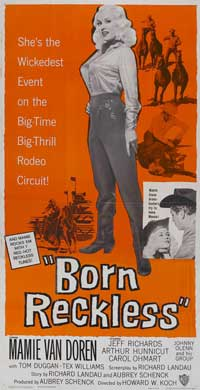 Born Reckless - 20 x 40 Movie Poster - Style A