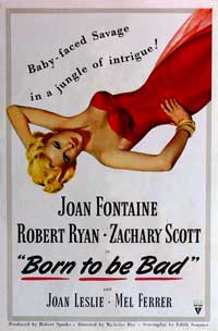 Born to Be Bad - 43 x 62 Movie Poster - Bus Shelter Style A