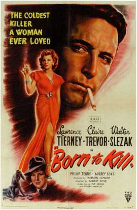 Born to Kill - 11 x 17 Movie Poster - Style A