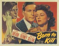 Born to Kill - 11 x 14 Poster UK Style A