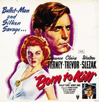 Born to Kill - 27 x 40 Movie Poster - Style B