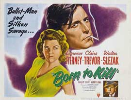Born to Kill - 11 x 17 Movie Poster - UK Style A