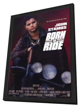 Born to Ride - 27 x 40 Movie Poster - Style A - in Deluxe Wood Frame