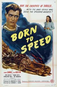 Born to Speed - 11 x 17 Movie Poster - Style A