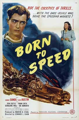 Born to Speed - 27 x 40 Movie Poster - Style A