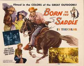 Born to the Saddle - 11 x 14 Movie Poster - Style A